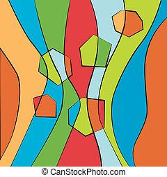 abstrakt, bunte, gestreifter hintergrund