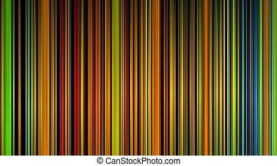 abstrakt, bunte, linien, auf, schwarz