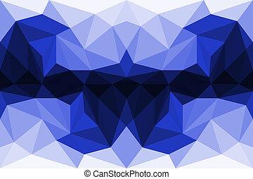 abstrakt, bunte, polygon, hintergrund