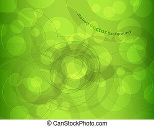 abstrakt, circles., illustration