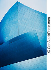 abstrakt, detail, von, modern, städtisch, architektur