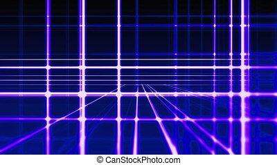 abstrakt, digital, senkrecht waagerecht, blaue linien, hintergrund, seamless, schleife, bereit, animation, hd