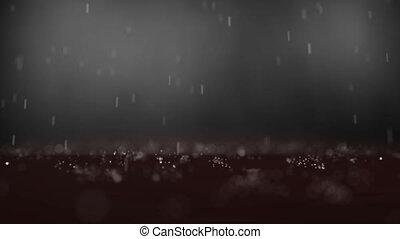 abstrakt, dof, regen