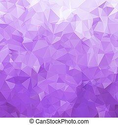 abstrakt, dreieck, beschaffenheit, violett