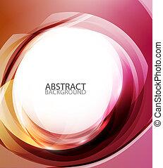 abstrakt, energi, baggrund, rød