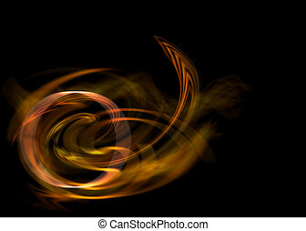 abstrakt, energie