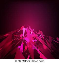 abstrakt, eps, geometrisch, hintergrund., 8, moresque