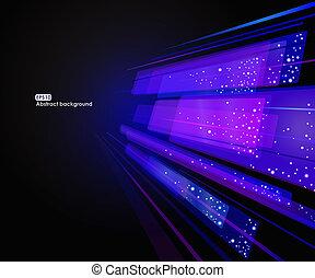 abstrakt, eps10, glødende, baggrund