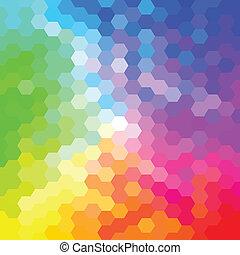 abstrakt, färgrik, bakgrund, mall