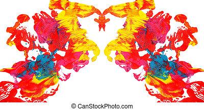 abstrakt, farbe