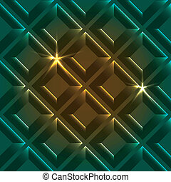 abstrakt, farverig, geometriske, baggrund