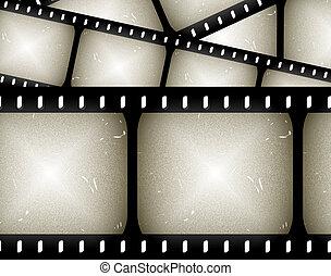 abstrakt, filmstrip