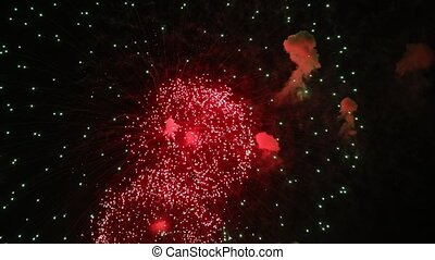 abstrakt, firework, färbte hintergrund