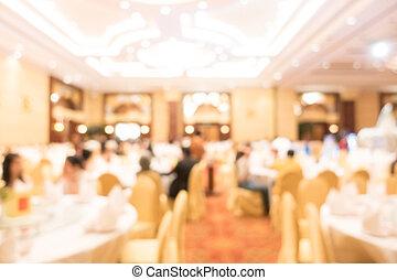 abstrakt, fläck, sal, bröllop