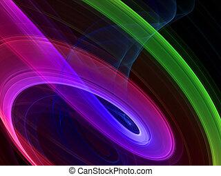 abstrakt, flerfärgad, bakgrund