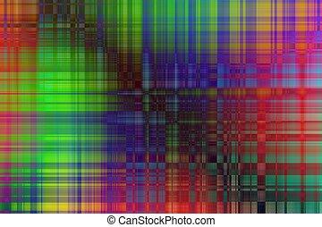 abstrakt, fond mönstra, av, färgad, horisontal, och, vertikal, l