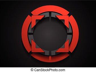 abstrakt form, korporativ, logo