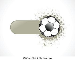 abstrakt, fotboll, baner