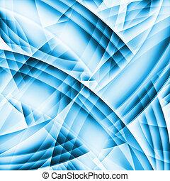 abstrakt, gamle, kaotiske, mønster, hos, farverig,...