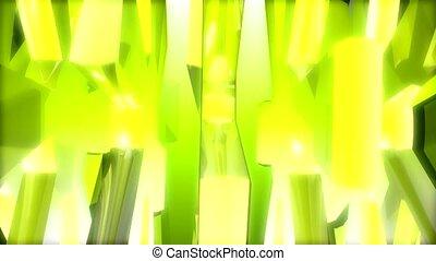 abstrakt, gelber