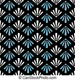 abstrakt, geometrisch, seamless, muster, hintergrund