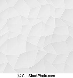 abstrakt, geometrisch, weißes, muster