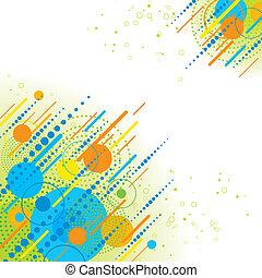abstrakt, geometrisk, bakgrund