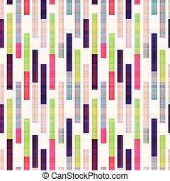 abstrakt, geometrisk, randig, seamless