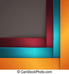 abstrakt, geometriske, baggrund