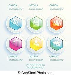 abstrakt, geschaeftswelt, infographics