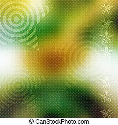 abstrakt, glödande, bakgrund, med, stjärnor
