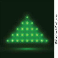 Abstrakt baum silber schwarzer hintergrund weihnachten eps10 abstrakt baum abbildung - Schwarzer weihnachtsbaum ...