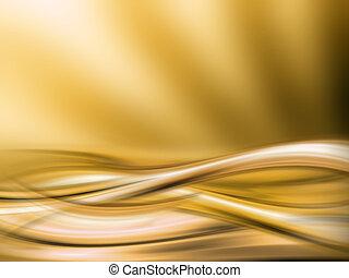 abstrakt, gold