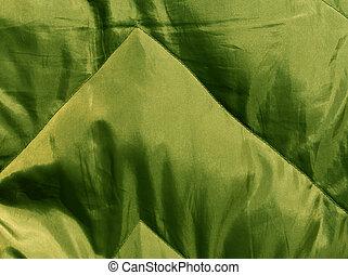 abstrakt, grønne, klæde, texture.
