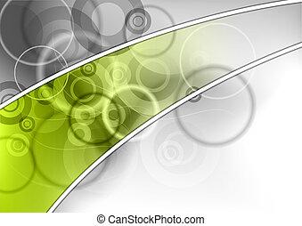 abstrakt, grün