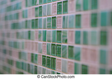 abstrakt, grün weiß, hintergrund, geometrisch