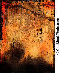 abstrakt, grunge, bakgrund