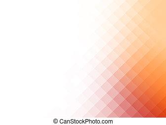 abstrakt, hældning, rhombus, baggrund