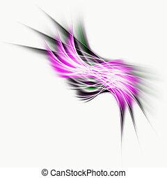 abstrakt, herskabelig, baggrund, konstruktion, hos, arealet,...