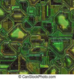 abstrakt, hintergruende, technik, design, technologie, dein