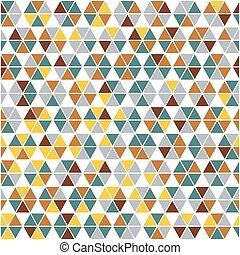 abstrakt, hintergrund, gemacht, von, triangl