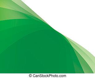 abstrakt, hintergrund, grünes licht