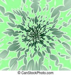 abstrakt, hintergrund, grünlich