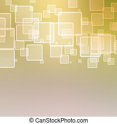 abstrakt, hintergrund, mit, quadrate
