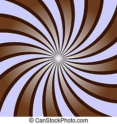 abstrakt, hintergrund, mit, strahlen, (vector)