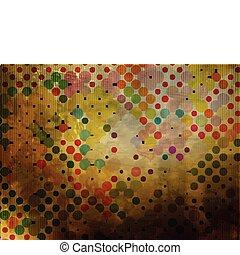 abstrakt, hintergrund, mosaik