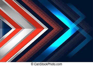 abstrakt, hintergrund, rotes , blaues
