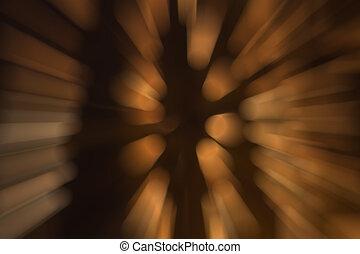 abstrakt, hintergrund, von, lichter, während, der, nacht, verwischen, filter