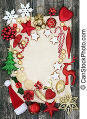 abstrakt, hintergrund, von, weihnachten, symbole