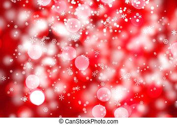 abstrakt, hintergrund, von, weihnachtsbeleuchtung